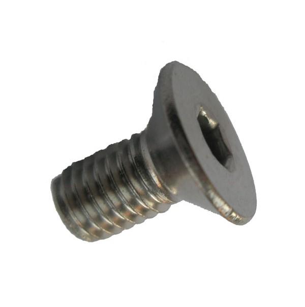 - M6x10 - SC-Normteile/® 50 St/ück Werkstoff: Edelstahl A2 V2A Senkkopfschrauben mit Innensechskant Vollgewinde Senkschrauben ISK - DIN 7991 // ISO 10642 SC7991